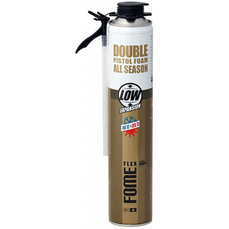 Montāžas putas FOME FLEX Double Pistol Foam, 750ml